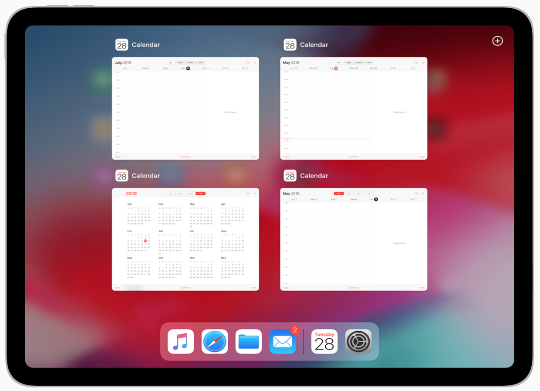Multiwindow on iPad(iPad 支持多窗口)