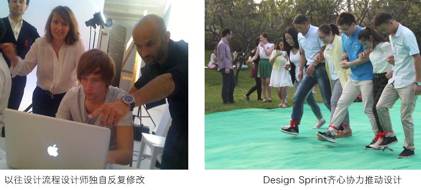 以往设计流程与Design Sprint对比